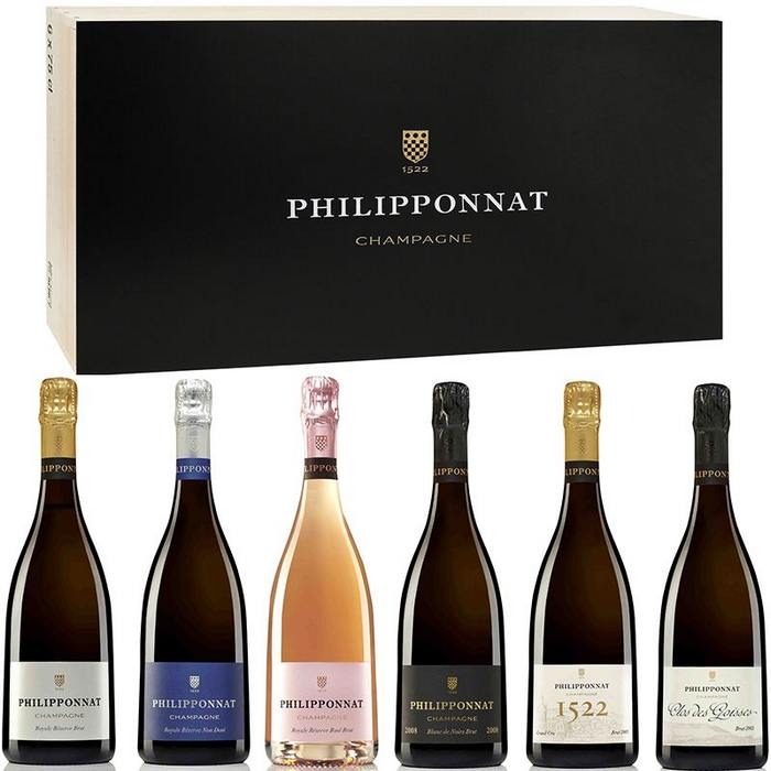 caisse de champagne philipponnat